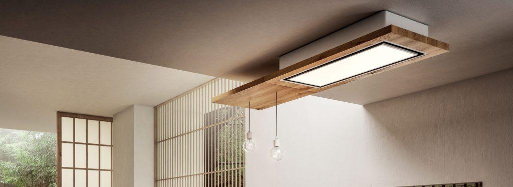Hotte plafond